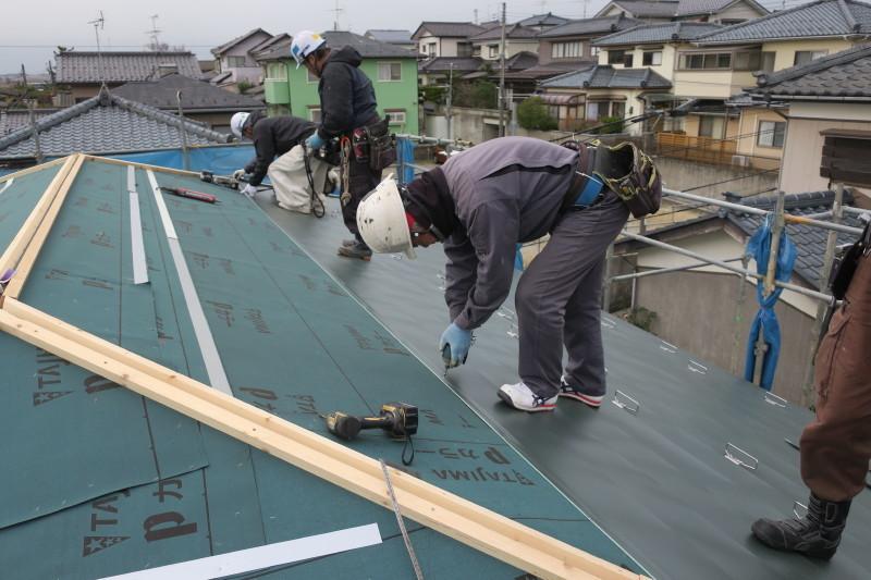 西区K様邸屋根工事