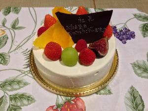 2014誕生日ケーキ